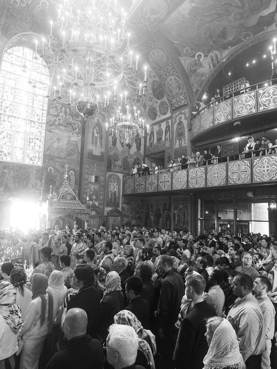 В храме в Сан-Франциско. Фото: прот. Петр Перекрестов / pravoslavie.ru