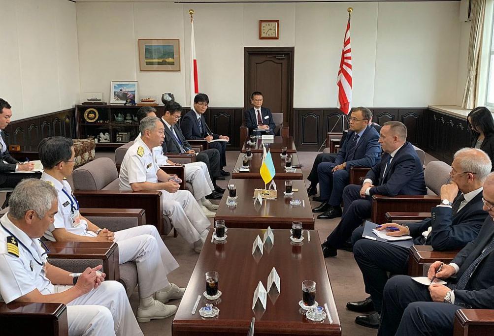 Первые украинско-японские консультации по вопросам безопасности / фото mfa.gov.ua