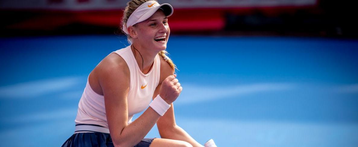 Даяна Ястремська вийшла у фінал тенісного турніру в Страсбурзі / hktennisopen.hk