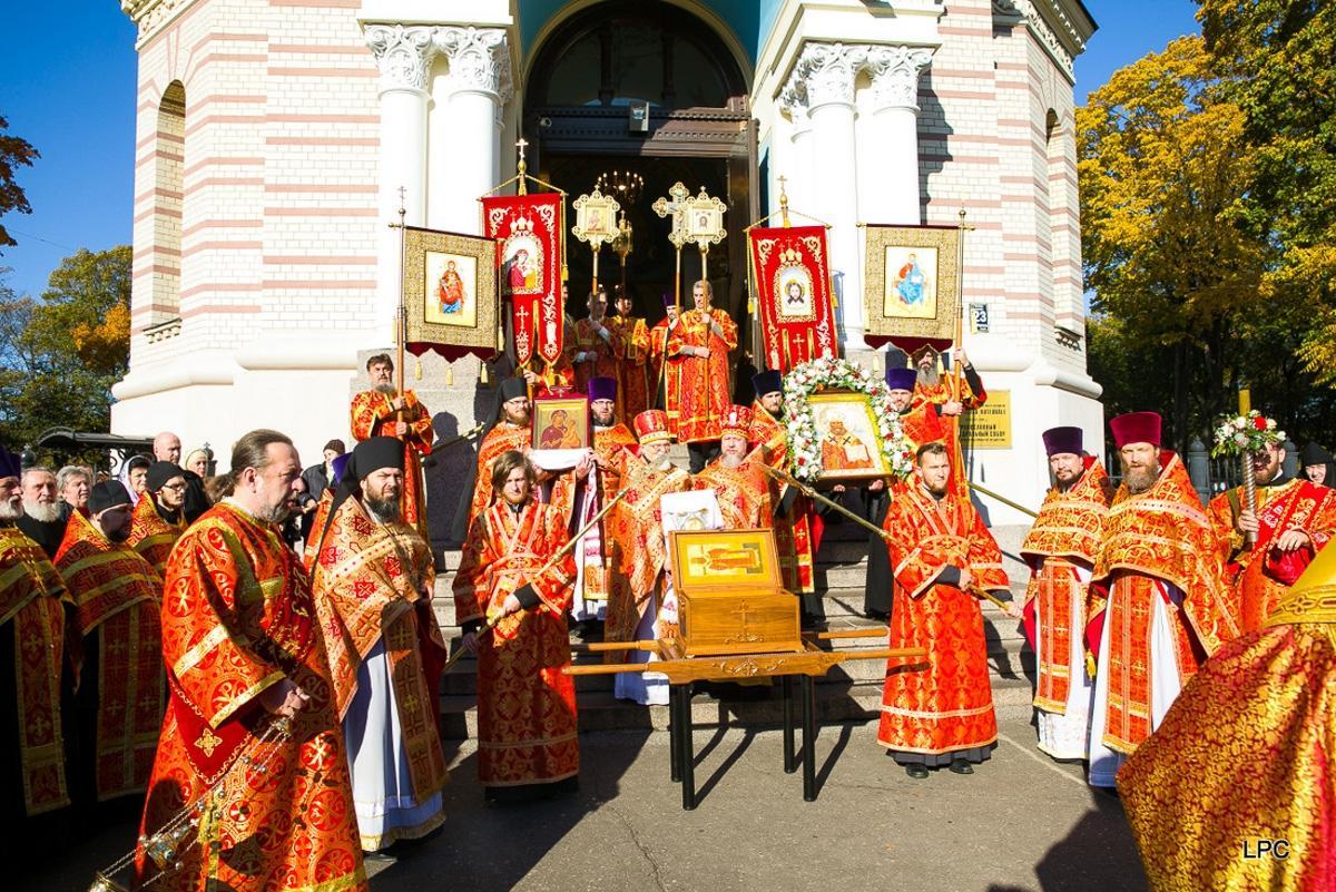 Латвийская Православная Церковь отметила день памяти своего небесного покровителя / pravoslavie.lv