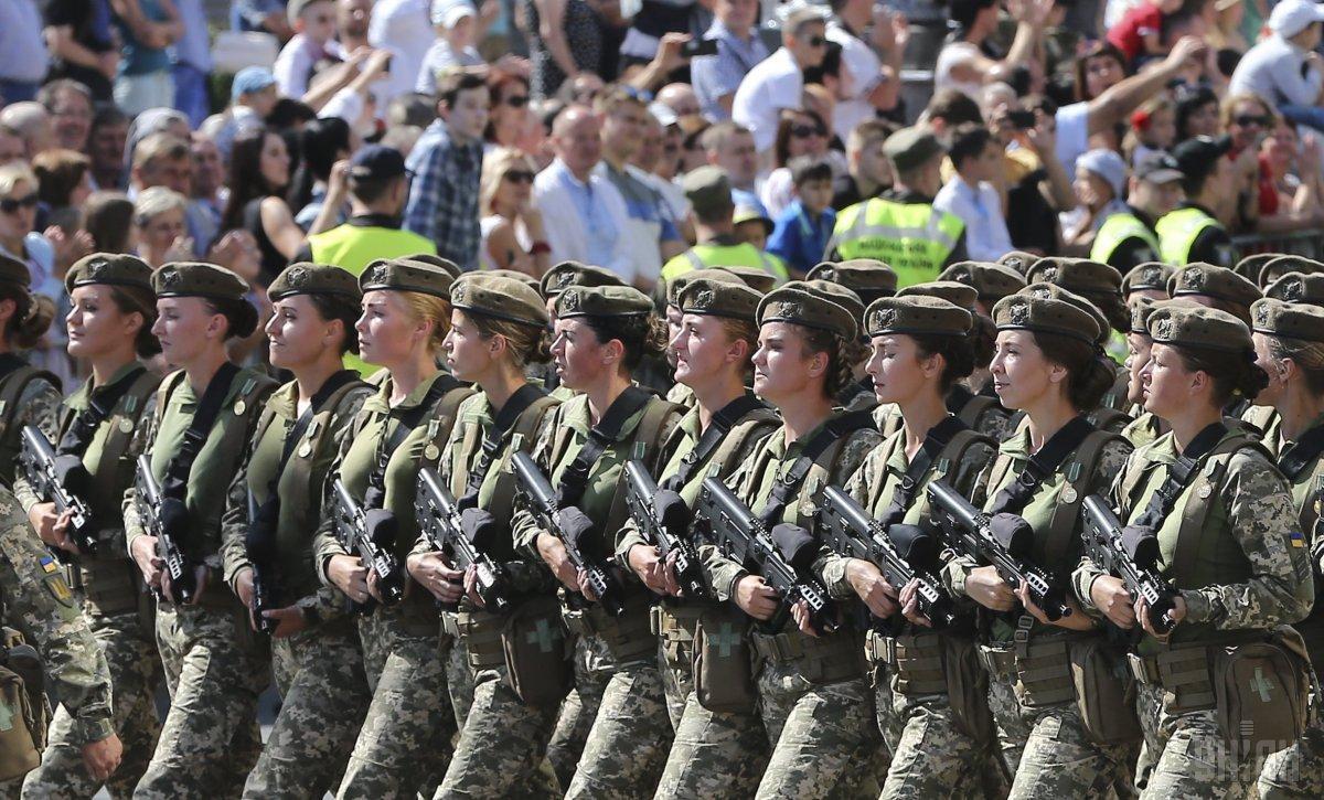 У ЗСУ служать 55 тисяч жінок / фото УНІАН