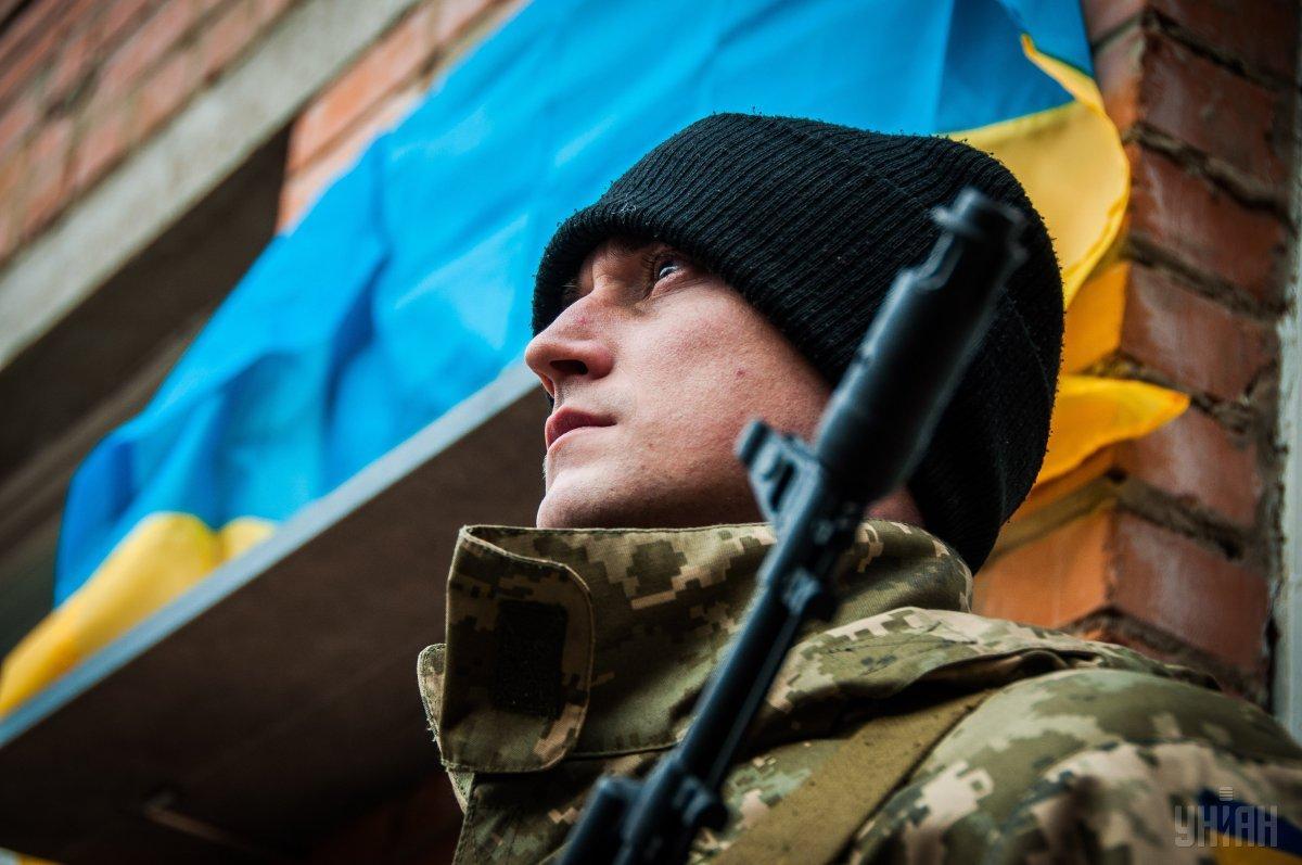 Завтра в Україні відзначають День захисника / фото УНІАН