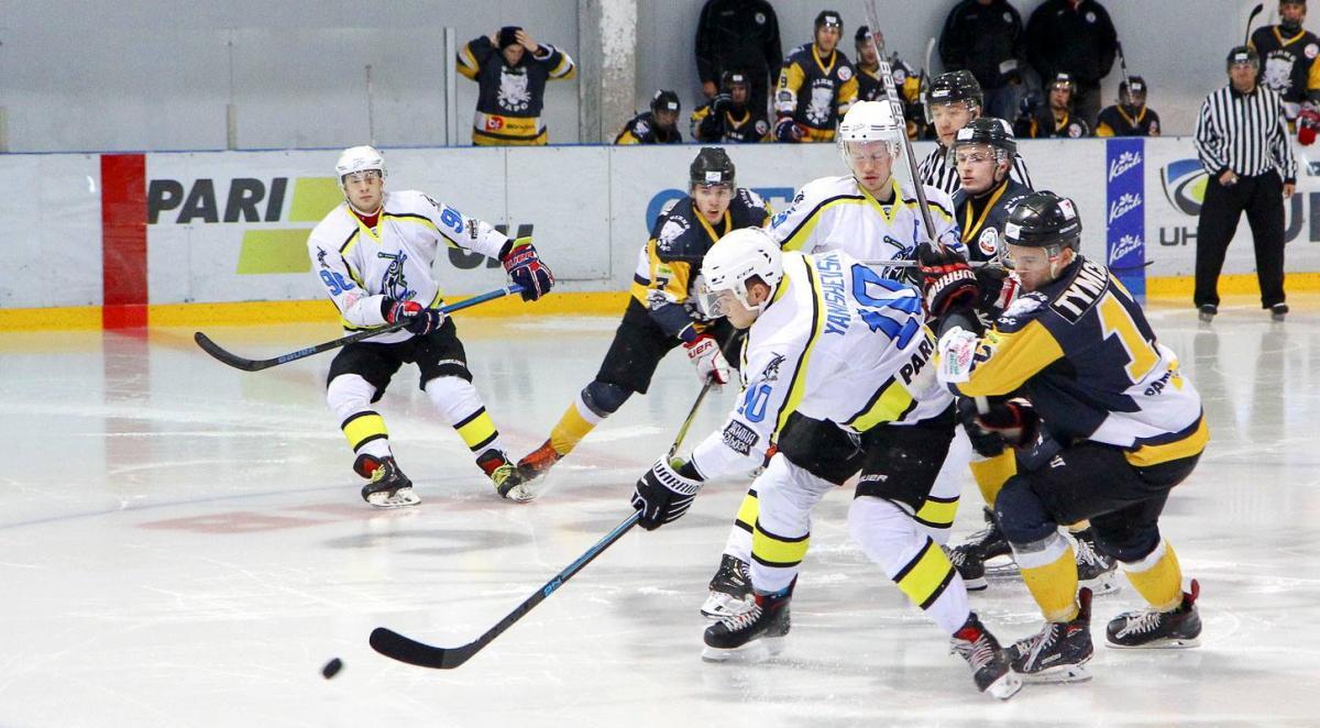Днепр выиграл у Белого Барса в гостевом матче УХЛ / uhl.ua