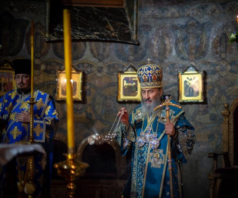 Блаженнейший Митрополит Онуфрий возглавил всенощное бдение в Киево-Печерской лавре / news.church.ua