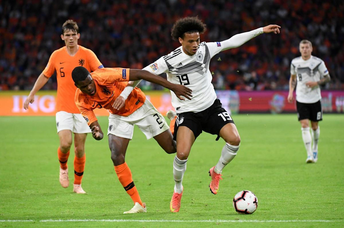 Збірна Голландії крупно обіграла принципових суперників з Німеччини / Reuters