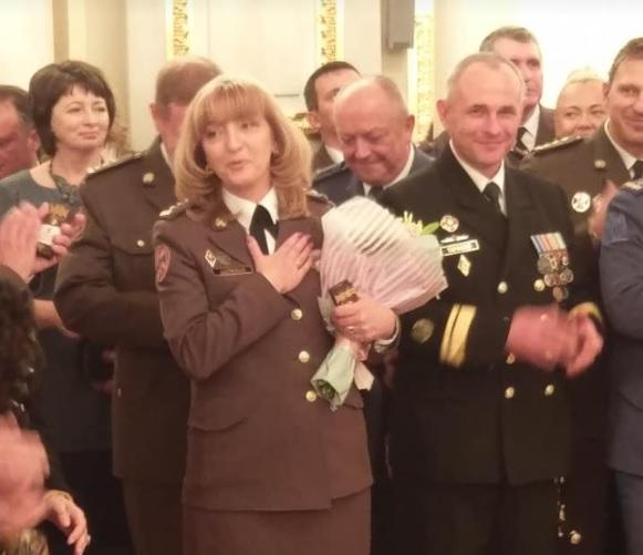 Людмила Шугалей стала первой в Украине женщиной-генералом/ Facebook, Ivanna Klympush-Tsintsadze