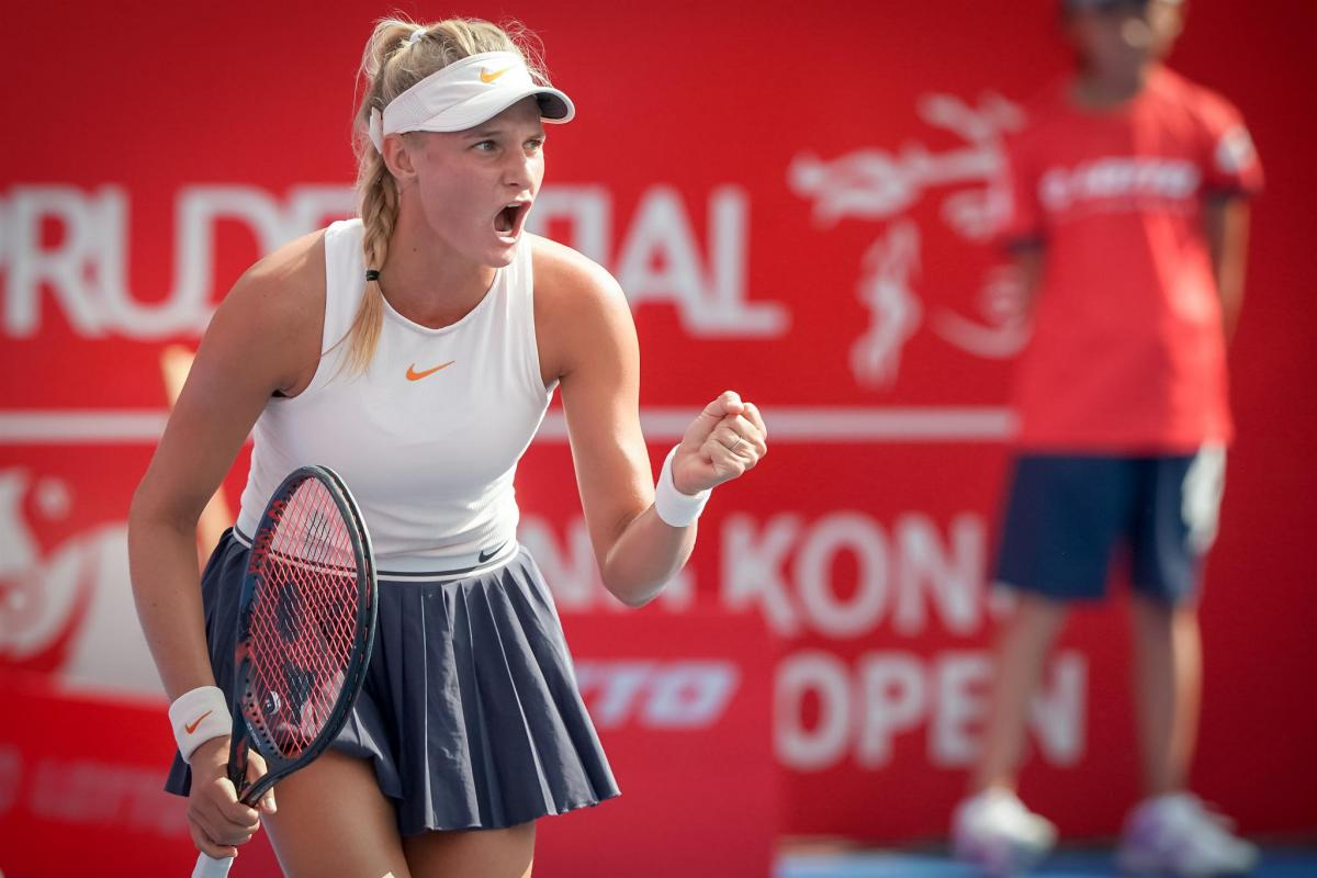Даяна Ястремська легко виграла у фіналі турніру в Гонконзі / twitter.com/WTA
