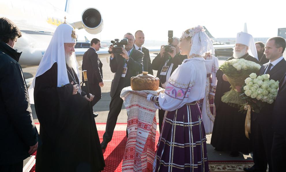 Патриарх Кирилл прибыл в Минск / church.by
