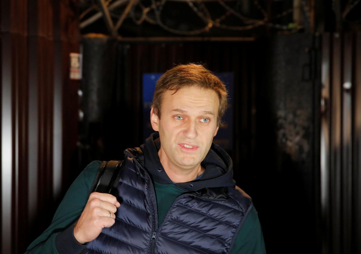 Навального госпитализировали с отравлением / фото REUTERS