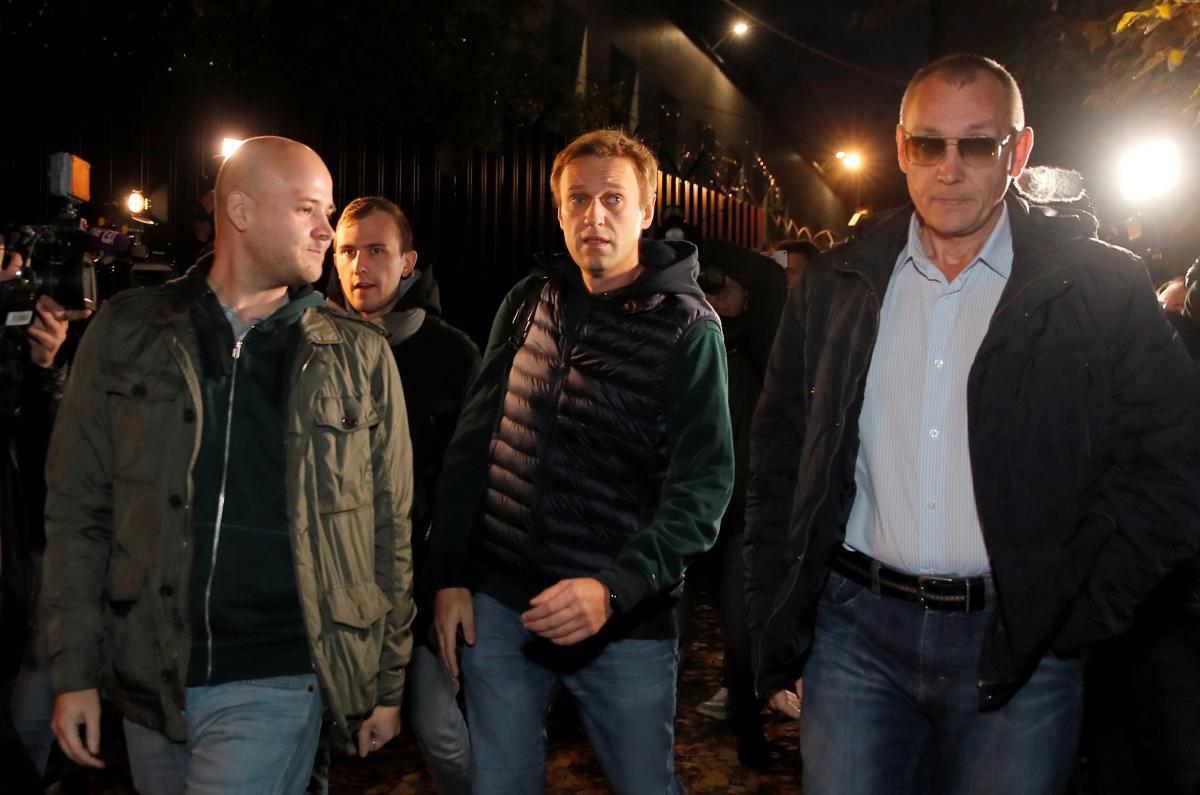 Алексея Навального госпитализировали в Омске / REUTERS