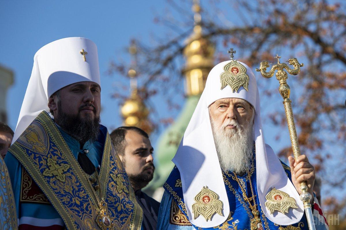 Синод ПЦУ вирішив створити для Філарета релігійну організацію у формі місії \ УНІАН