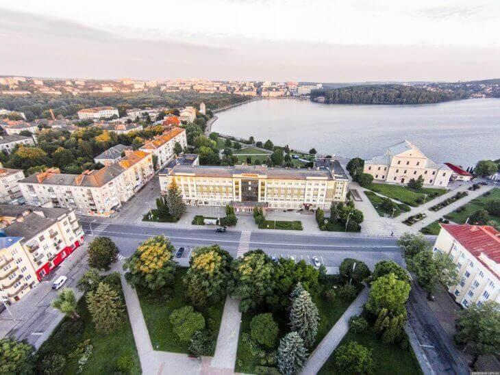 Тернополь, иллюстрация / nova.te.ua