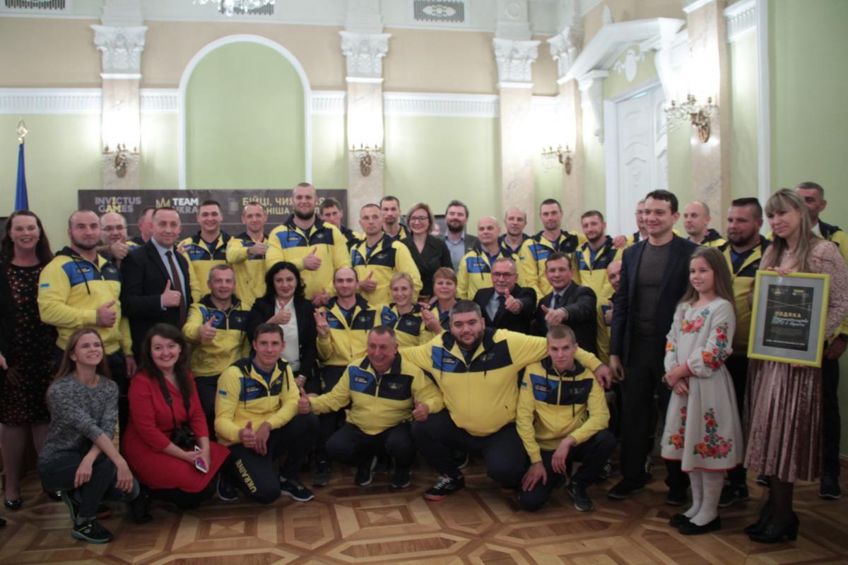 16 жовтня національна збірна України вирушає на Ігри нескорених доСіднея Урядовий портал