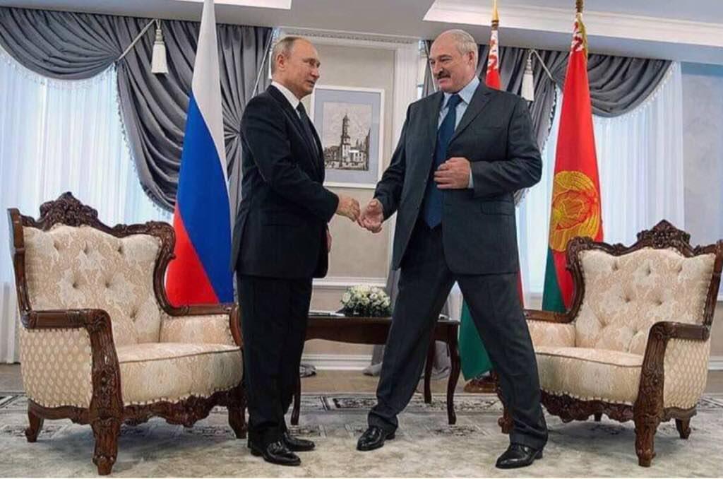 Новий трюк Путіна зі зростом підірвав інтернет / фото t.me/allgolobutsky