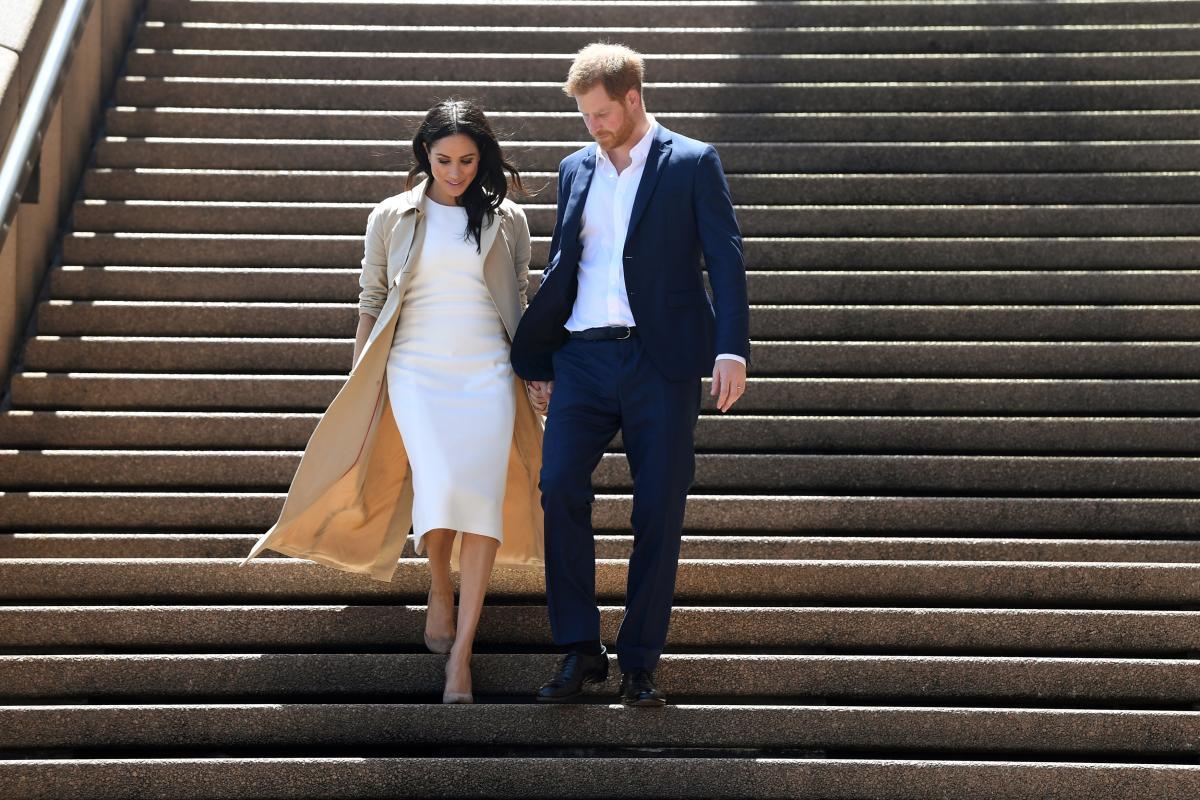 Принц Гарри и его супруга Меган Маркл \ REUTERS