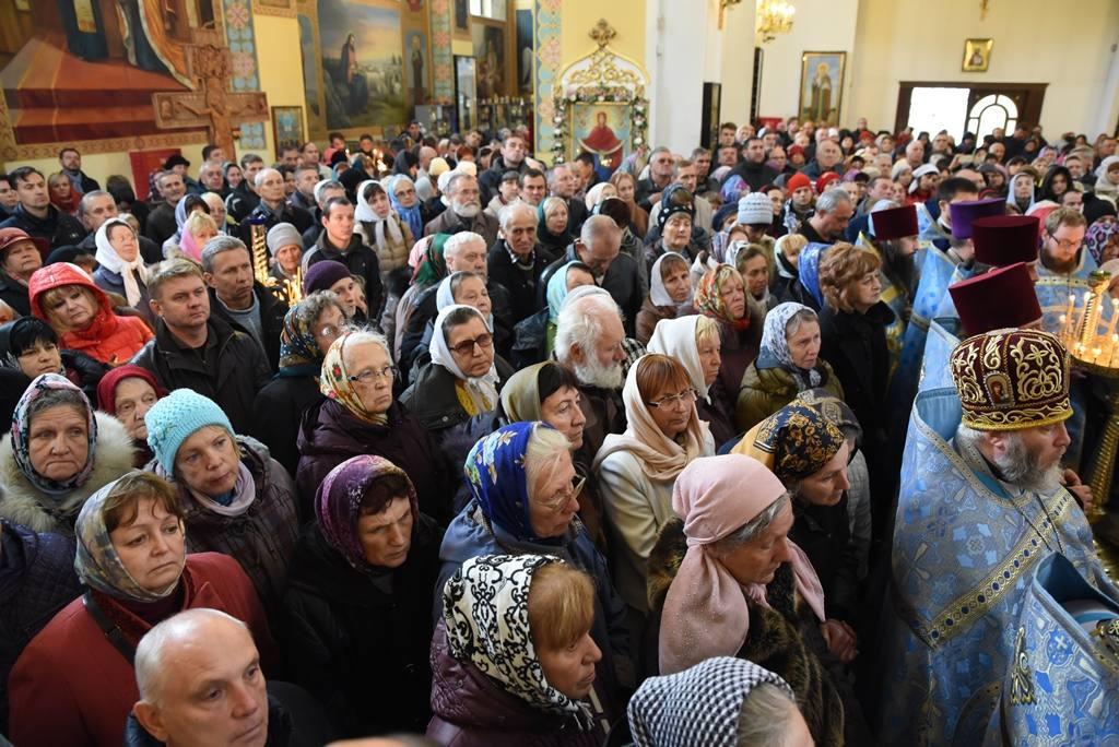 Благодарственный молебен в Запорожье / hramzp.ua
