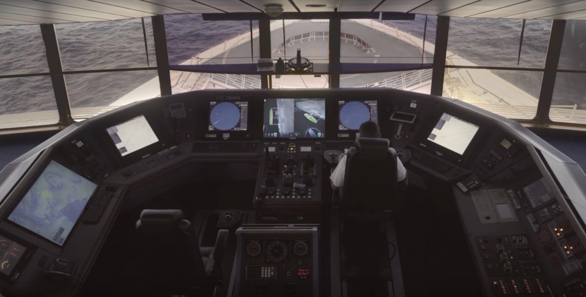 Испытания автономных кораблей проводятся у побережья Норвегии / скриншот