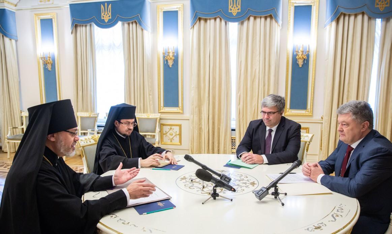 Экзархи на встрече с Президентом / president.gov.ua
