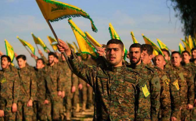"Участники ""Хезболла"" / inforos.ru"
