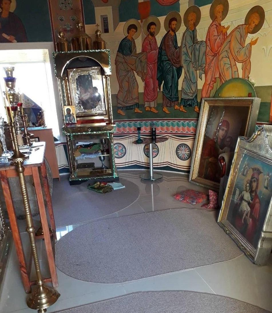 Из храма похитили старинные иконы / eparhiya.od.ua
