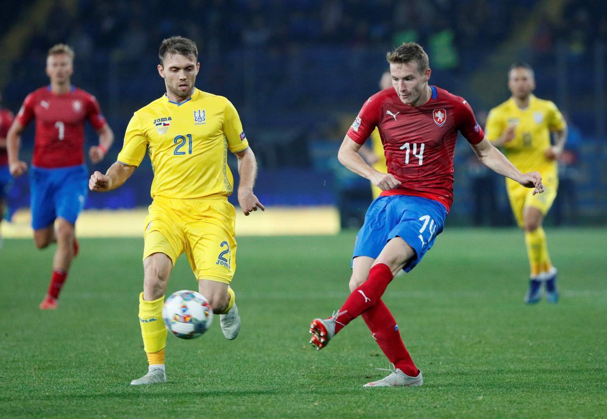 Збірна України обіграла Чехію в матчі Ліги націй / Reuters
