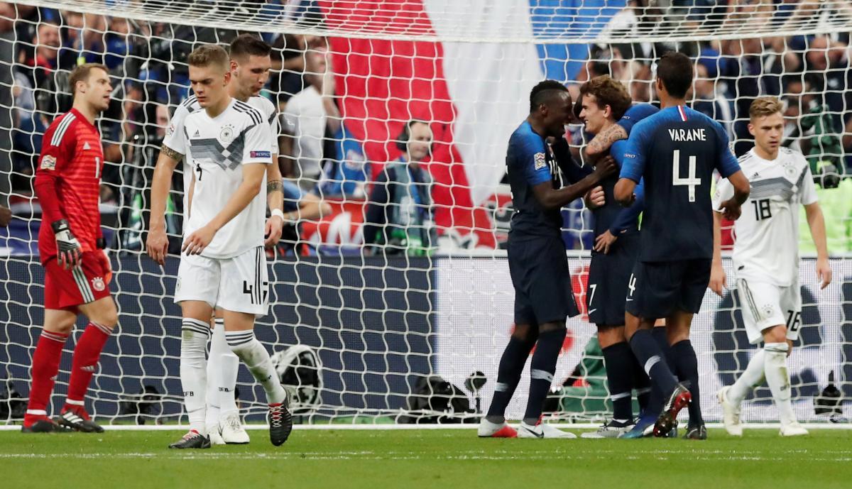 Франция - Германия - 2:1 / REUTERS