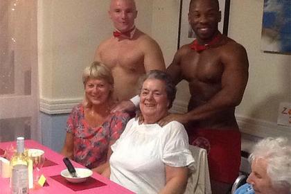 Официанты подали им ужин из трех блюд / Фото: Milton Lodge Retirement Home