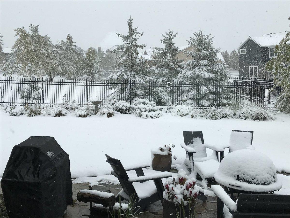 Небраску накрыл снегопад / twitter.com/JimAlfano1