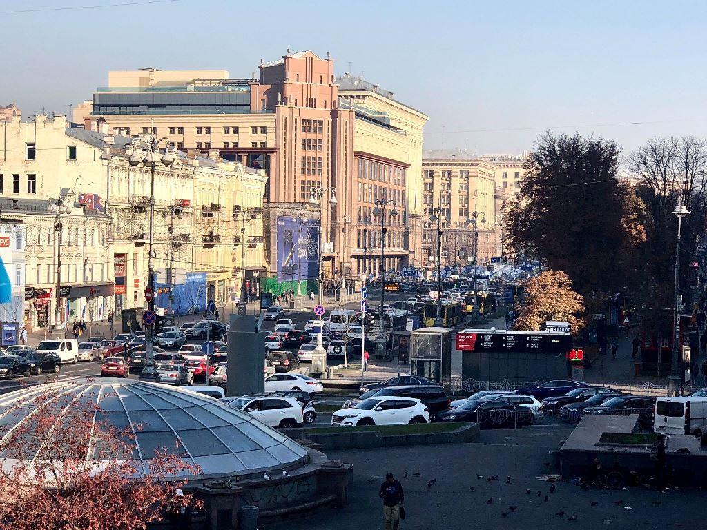Київ стоїть в пробках / фото kiev.informator.ua