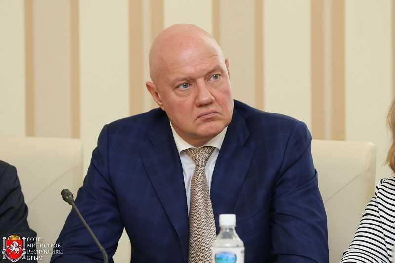 """Нахлупин - """"замглавы"""" оккупированного Крыма / фото rk.gov.ru"""