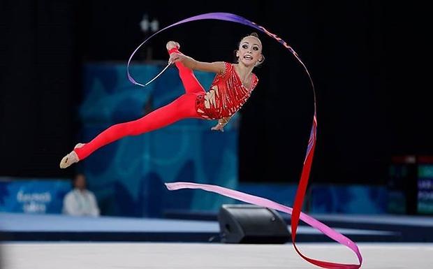 Пограничная завоевала серебро в гимнастическом многоборье / noc-ukr.org
