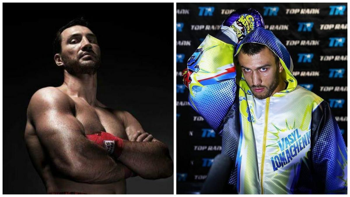 Владимир Кличко и Василий Ломаченко вошли в число величайших боксеров ХХI века / sport.bigmir.net