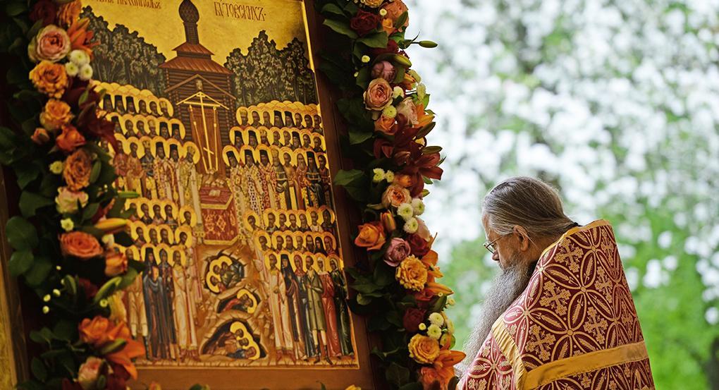 В Собор новомучеников включены два священника, один из них — со своими сыновьями / foma.ru