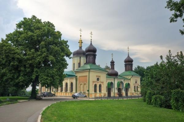 Ионинский монастырь Киева / foma.in.ua