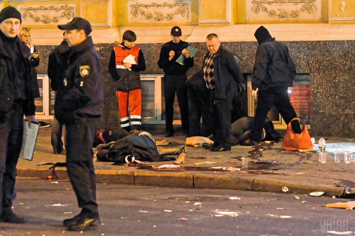 В МВД после происшествия пообещали не спускать дело на тормозах и довести его до реального срока Зайцевой / УНИАН