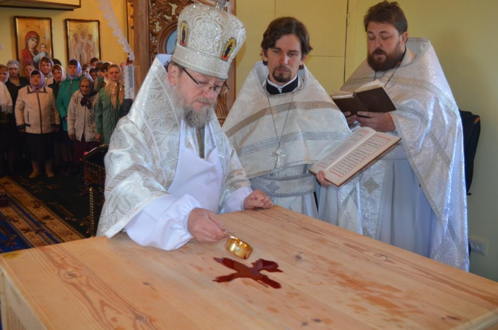 На Полесье освятили седьмой православный храм в этом году / sarny.church.ua