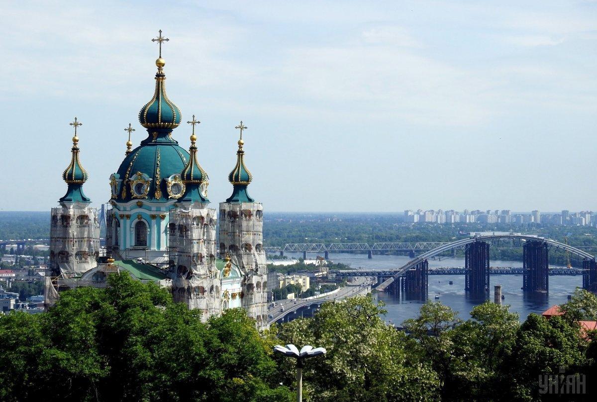 Андріївську церкву передали в користування Константинополю / фото УНІАН