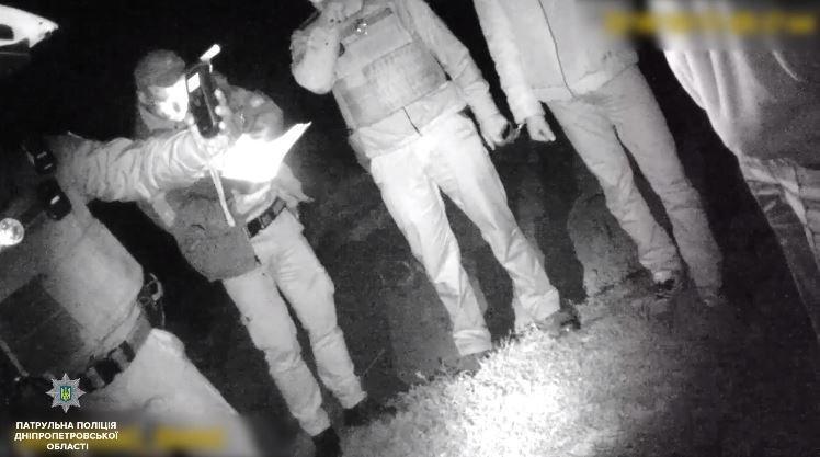 Прибор показал 0,81 промилле алкоголя в крови водителя \ патрульная полиция Днепра