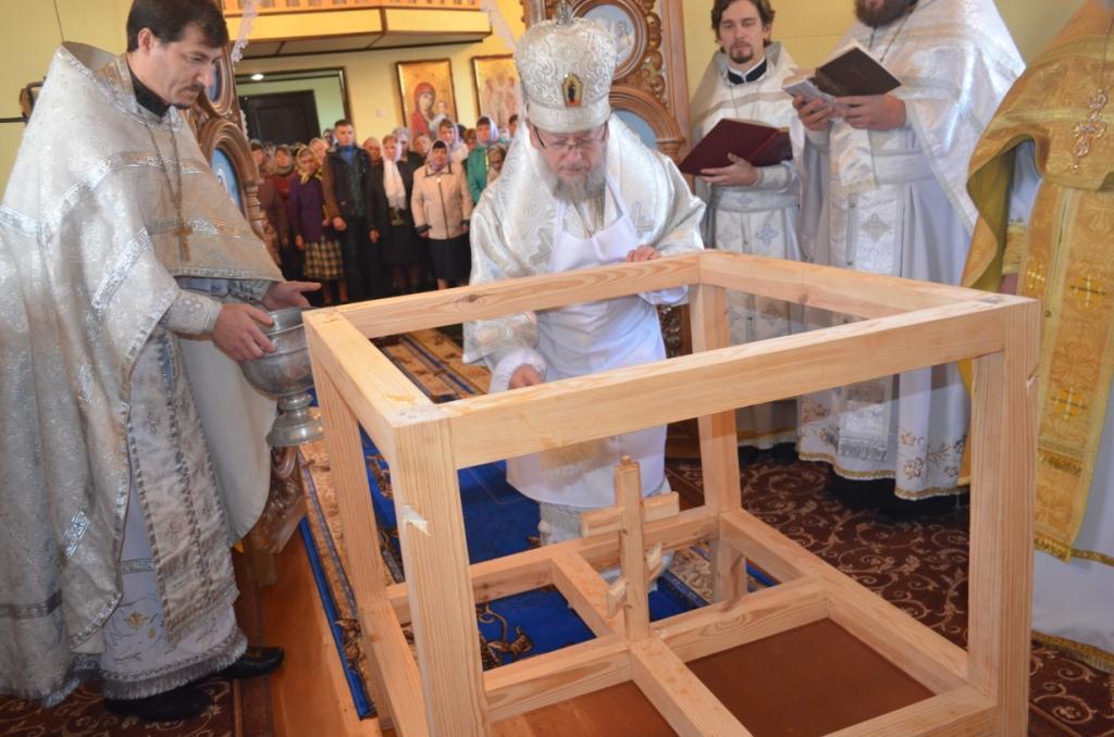 Освящение храма / sarny.church.ua