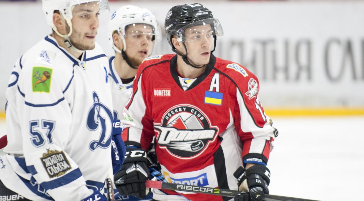 Коренчук стал автором юбилейного гола в регулярных чемпионатах УХЛ / uhl.ua