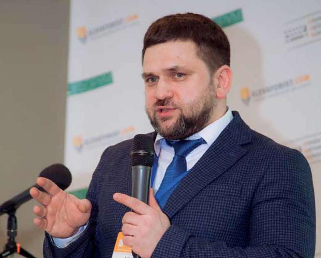 Директор по экономике и финансам ПАО «Укрзализныця» Андрей Рязанцев