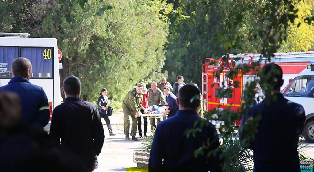 НападениенаКерченский политехнический колледж произошло 17 октября / 112.ua