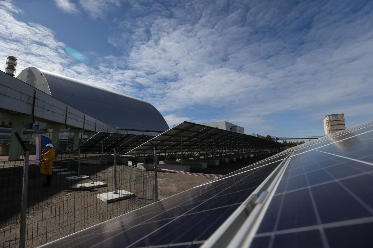Біля Чорнобилю знову генерується електроенергія / фото УНІАН