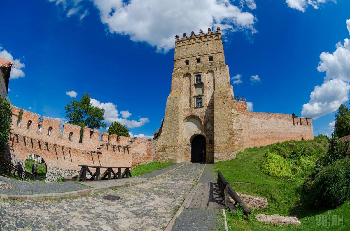 Брама Луцького замку / Фото УНІАН