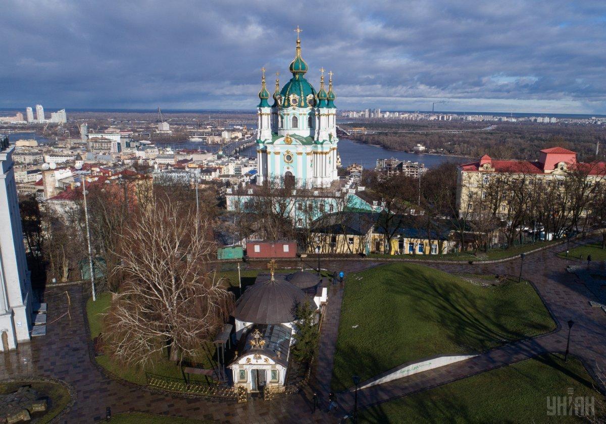 Реконструкцию Андреевской церкви могут ускорить / фото УНИАН