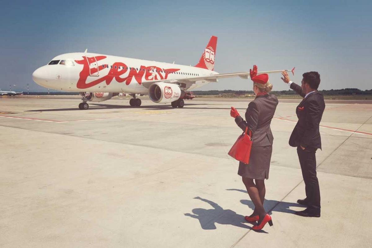 Італійська авіакомпанія Ernest Airlines призупинила роботи з 11 січня 2020 року / Фото прес-служба Ernest