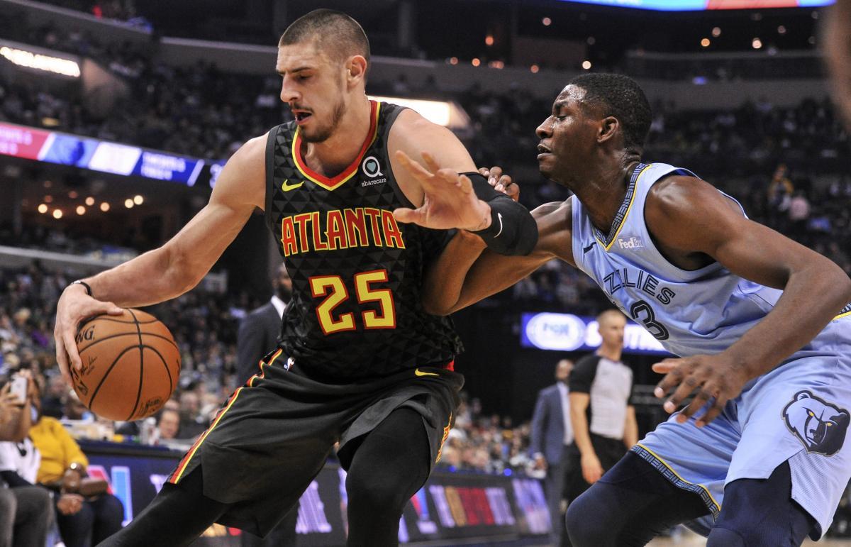 Атланта Алексея Леня проиграла второй матч подряд чемпионата НБА / Reuters