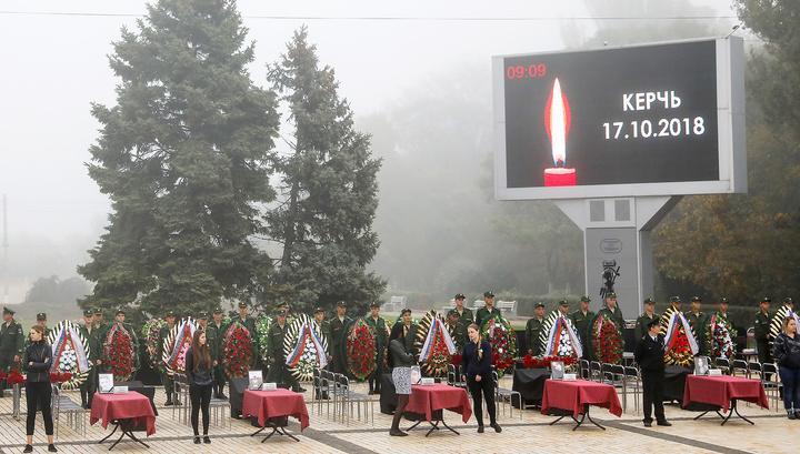 В Крыму простились с погибшими в керченском колледже / feodeparch.com