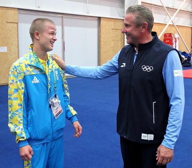 Бубка пишається юними українськими олімпійцями / noc-ukr.org