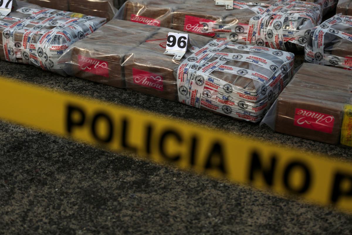 Венесуэльские правоохранители задержали корабль с кокаином, следовавшийв Бельгию / Иллюстрация REUTERS